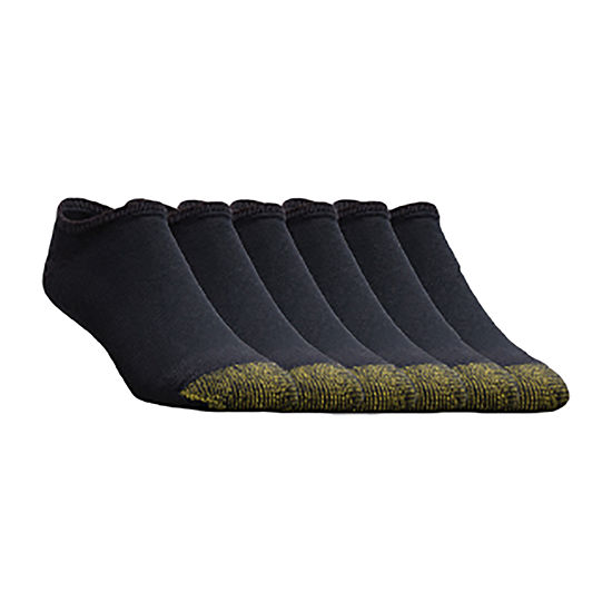 Gold Toe® 6-pk. Athletic No Show Socks - Extended Sizes