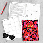 "Tf Publishing July 2020 - June 2021 Poppy Go Lucky Medium 7.5"" X 10.25"" Monthly Planner"
