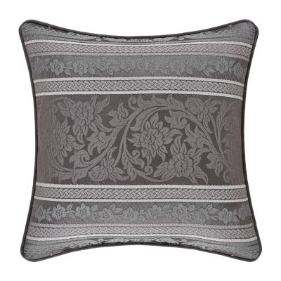 Five Queens Court Mackay Square Throw Pillow