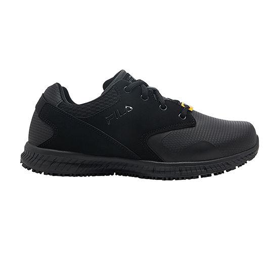 Fila Memory Layers Slip Resistant Womens Walking Shoes Wide Width