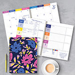 "Tf Publishing Bright Blooms Undated Large 8.5"" X 11"" Weekly Monthly Planner"
