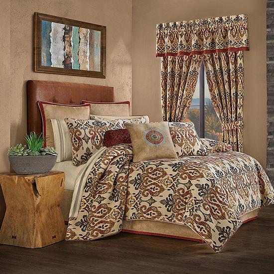 Queen Street Teller 4-pc. Heavyweight Comforter Set