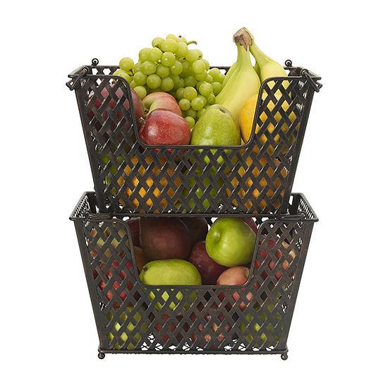 Gourmet Basics by Mikasa Laredo Wire Nesting Basket