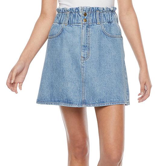 Arizona Womens A-Line Skirt-Juniors