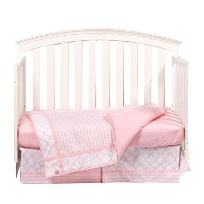 Trend Lab® Pink Sky 3-pc. Crib Bedding Set