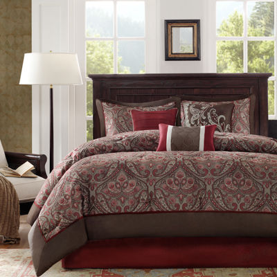 Madison Park Preston Paisley 7-pc. Comforter Set