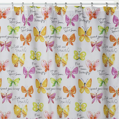 Creative Bath™ Flutterby Shower Curtain