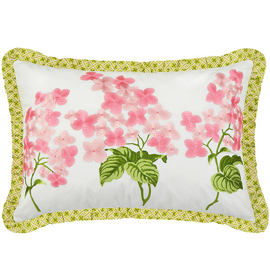 Waverly Emmas Garden Oblong Decorative Pillow
