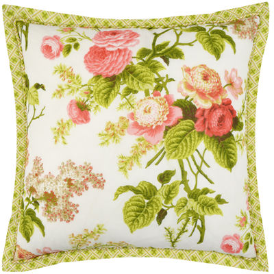Waverly® Emma's Garden Square  Decorative Pillow