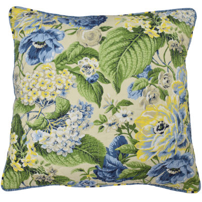 Waverly® Floral Flourish Square  Decorative Pillow
