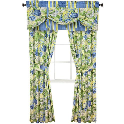 Waverly® Floral Florish 2-Pack Curtain Panels