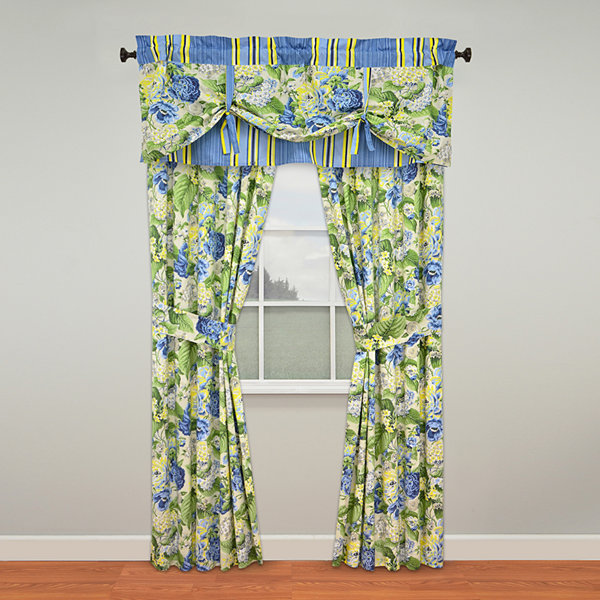 Waverly® Floral Florish 2-Pack Curtain Panels