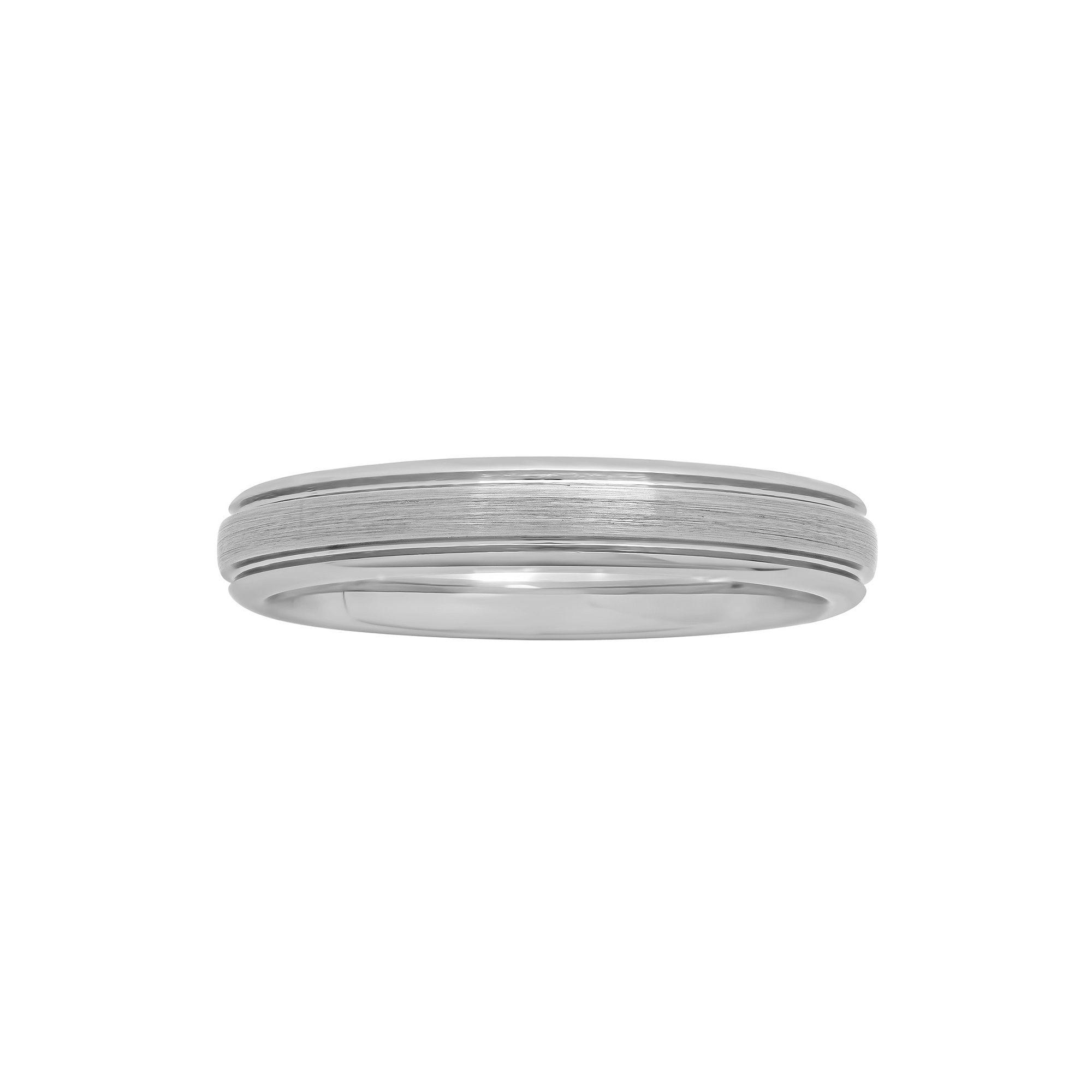 Womens 4mm Tungsten Ring 7034