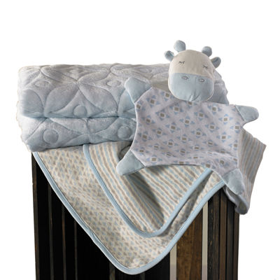 Lolli Living 3-pk. Blankets - Blue