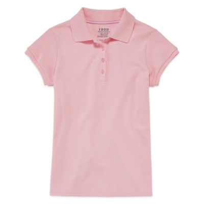 IZOD® Short-Sleeve Interlock Polo