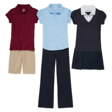 jcpenney.com | IZOD® Polo or Twill Skinny Pant or Woven Shirring Top or Jumper or Scooter