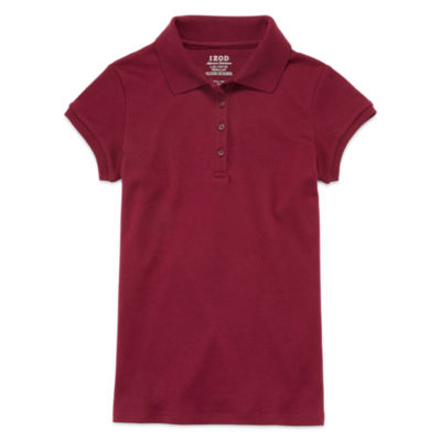 IZOD® Short-Sleeve Interlock Polo - Girls 7-18