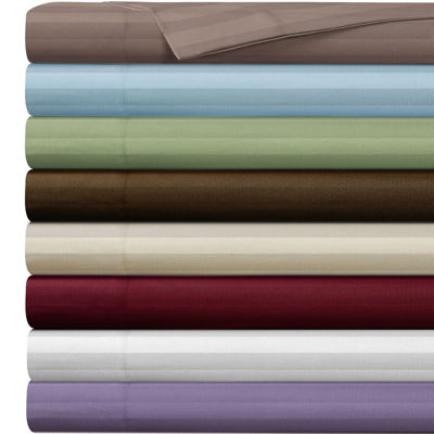 Cathay Home Dobby Stripe Sheet Set