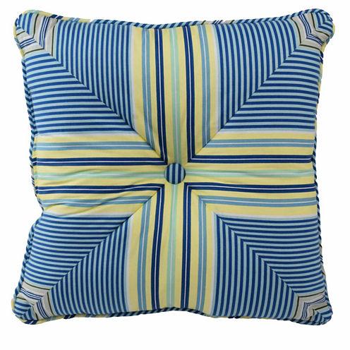 "Waverly® Floral Engagement 16"" Square Decorative Pillow"