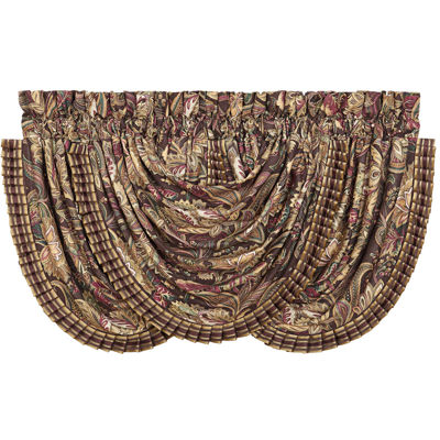 Queen Street® Catherine Rod-Pocket Lined Valance