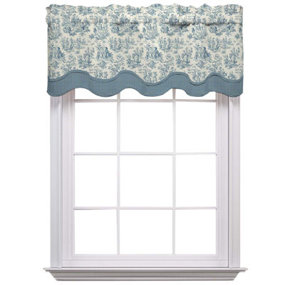 Waverly Charmed Life Rod-Pocket Valance