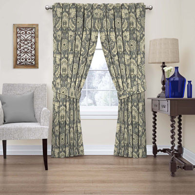 Clifton Hall Rod-Pocket Curtain Panel