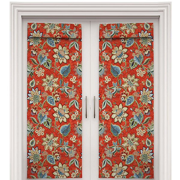Brighton Blossom Rod-Pocket Door Panel