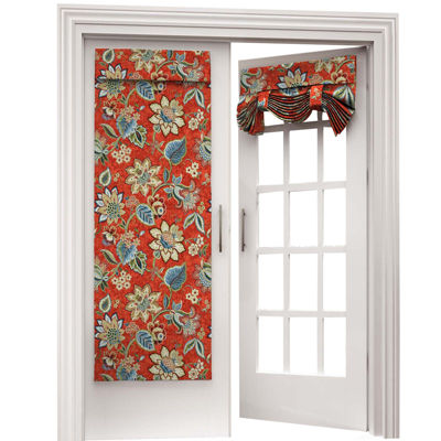Brighton Blossom Rod Pocket Door Panel