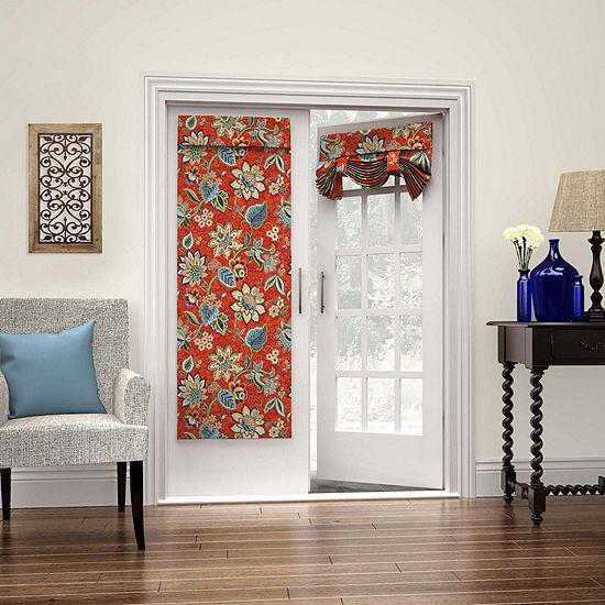 Waverly Brighton Blossom Rod-Pocket Door Panel