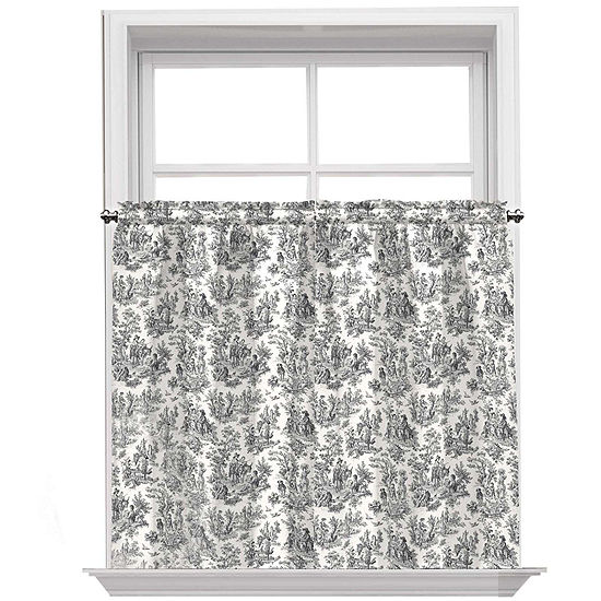 Waverly Charmed Life Rod-Pocket Window Tiers