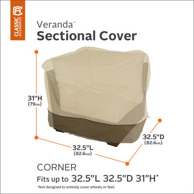 Classic Accessories® Veranda Corner Sectional Cover