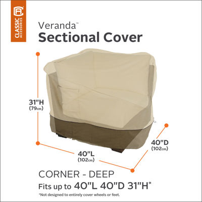 Classic Accessories® Veranda Deep Corner Sectional Cover