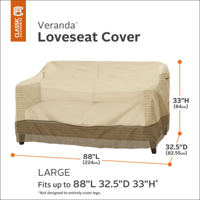 Classic Accessories® Veranda Large Loveseat Cover
