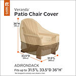 Classic Accessories® Veranda Adirondack Chair Cover