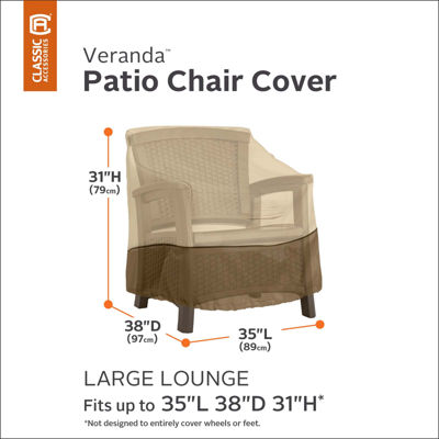 Classic Accessories® Veranda Large Lounge Chair Cover