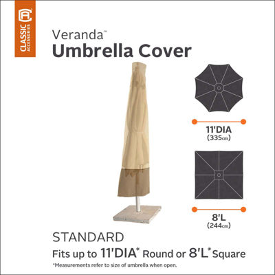 Classic Accessories® Veranda Umbrella Cover