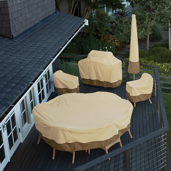 Classic Accessories® Veranda Large Round Table and Chairs Cover