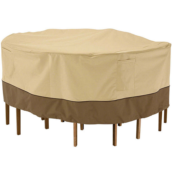 Classic Accessories Veranda Small Round Table And Chairs Cover