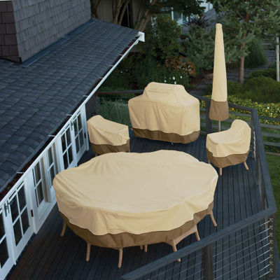 Classic Accessories® Veranda Medium Square Table and Chairs Cover