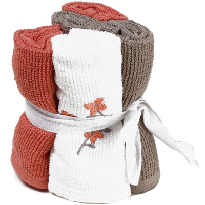 Saturday Knight Coral Garden Bath Towel Collection