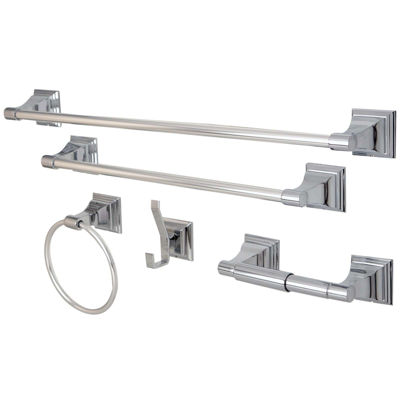 Kingston Brass Royal 5-pc. Bathroom Hardware Set