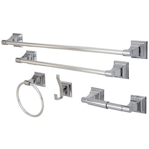 Kingston Brass Royal 5-pc. Bathroom Hardware Set