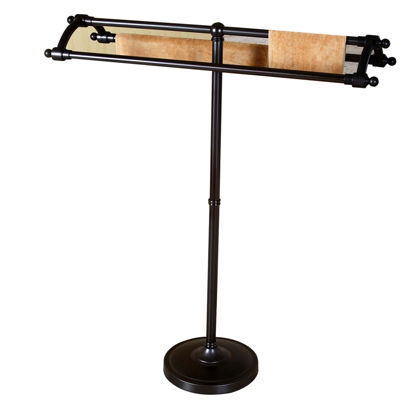 Kingston Brass Round Base Pedestal Towel Rack