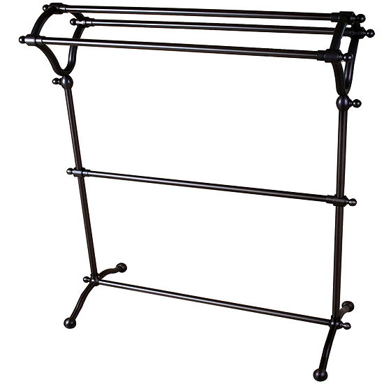 Pedestal 3-Tier Towel Rack