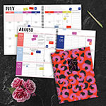 "Tf Publishing July 2020 - June 2021 Wild Animal Print Large 8.5"" X 11"" Daily Weekly Monthly Planner + Coordinating Planning Stickers"