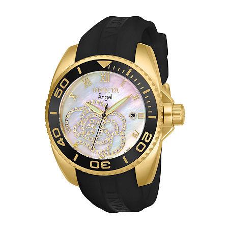 Invicta Pro Diver Mens Black Strap Watch-28678, One Size