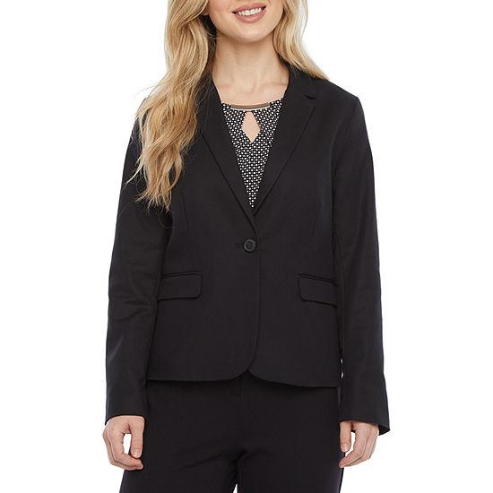 Liz Claiborne One Button Blazer - Tall