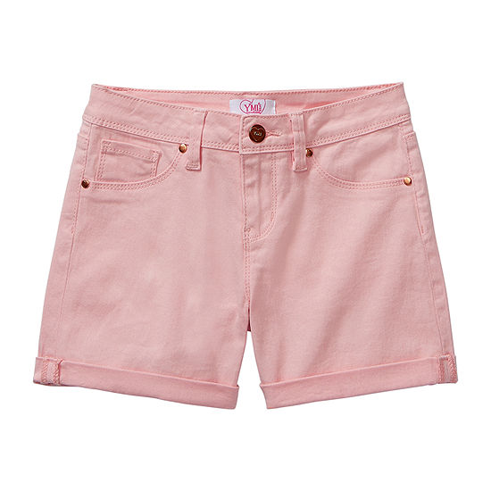 Ymi-Big Kid Girls Midi Short
