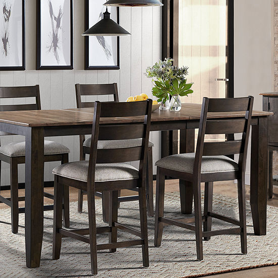 Bellington 5-Piece Dining Set with Barstools