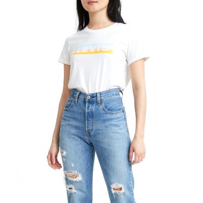 Levi's Perfect Womens Crew Neck Short Sleeve T-Shirt